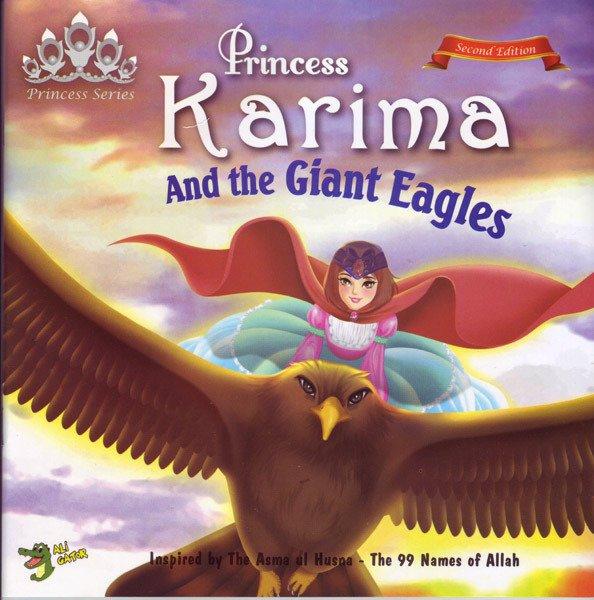 画像1: カリーマ姫と巨大なワシ Princess Karima and the Giant Eagles 【日本語訳あり】 (1)