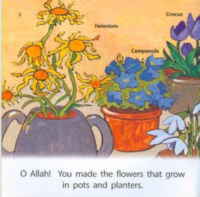 画像1: Allah Made Them All : Flowers おはな 【日本語訳あり】