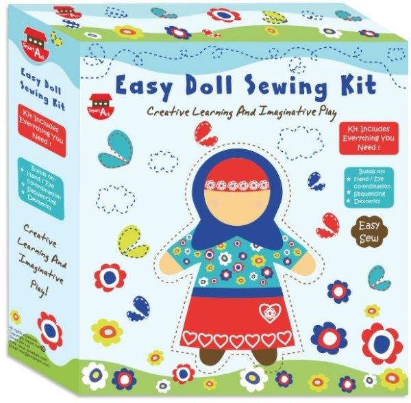 画像1: ムスリマ人形ソーイング・キット Easy Doll Sewing Kit (1)