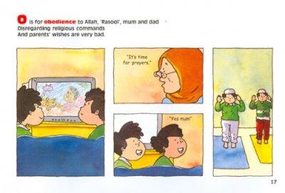 画像3: A to Z of Akhlaaq : Moral Values for Children アフラークのAからZまで こどもむけイスラームのマナー 【日本語訳あり】