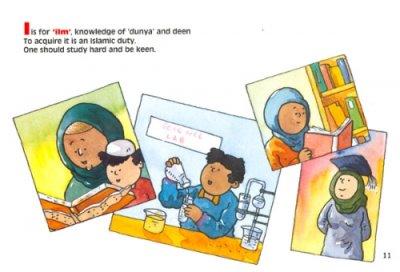 画像2: A to Z of Akhlaaq : Moral Values for Children アフラークのAからZまで こどもむけイスラームのマナー 【日本語訳あり】